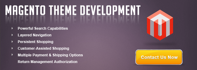 magento themes development