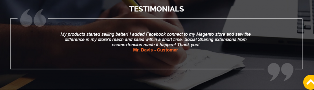 Ecomextension TestimonialsEcomextension Testimonials
