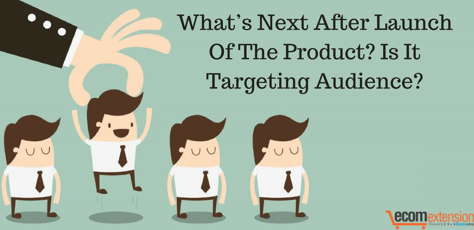 What's next after launch of product? Is it targeting audience?