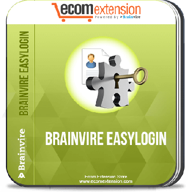 Brainvire Easy Login Extension for Magento