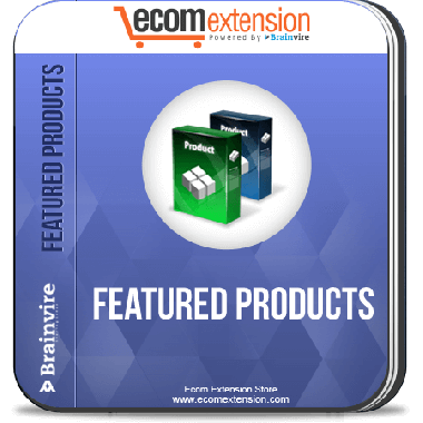 Magento Featured Products Extension
