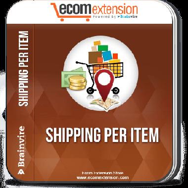 Magento Shipping per Item