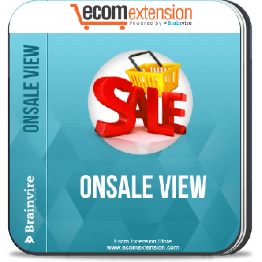 Magento OnSale View Extension