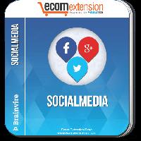 Brainvire Social Media Extension For Magento