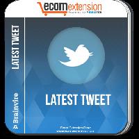 Magento Latest Tweet Extension